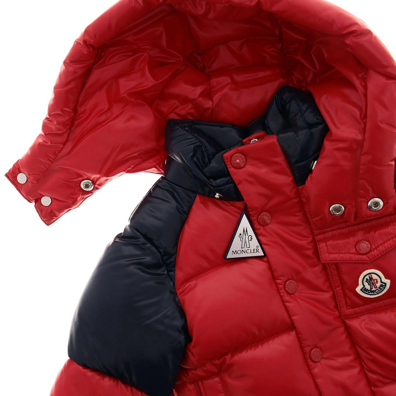 Jacket kids Moncler red 3