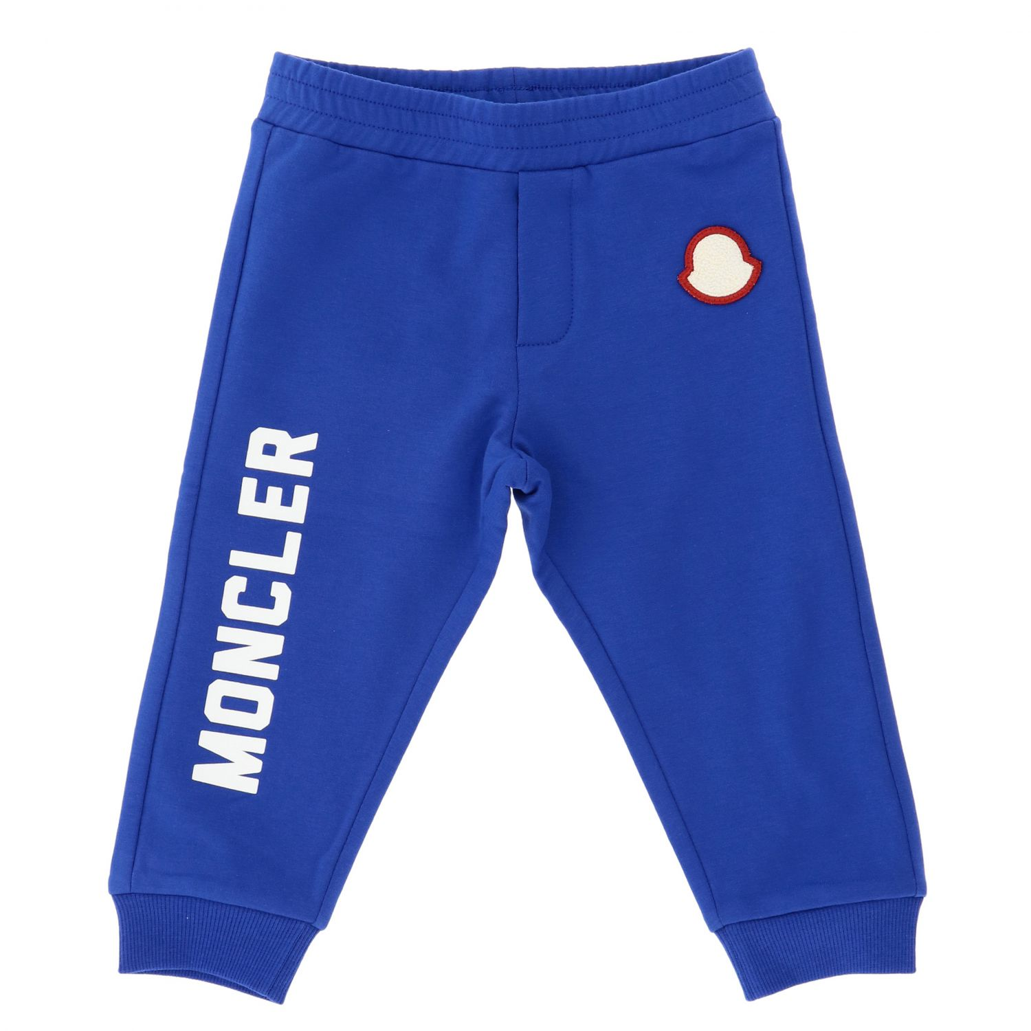 Pantalon enfant Moncler bleu royal 1