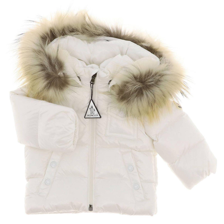 Jacket kids Moncler white 1