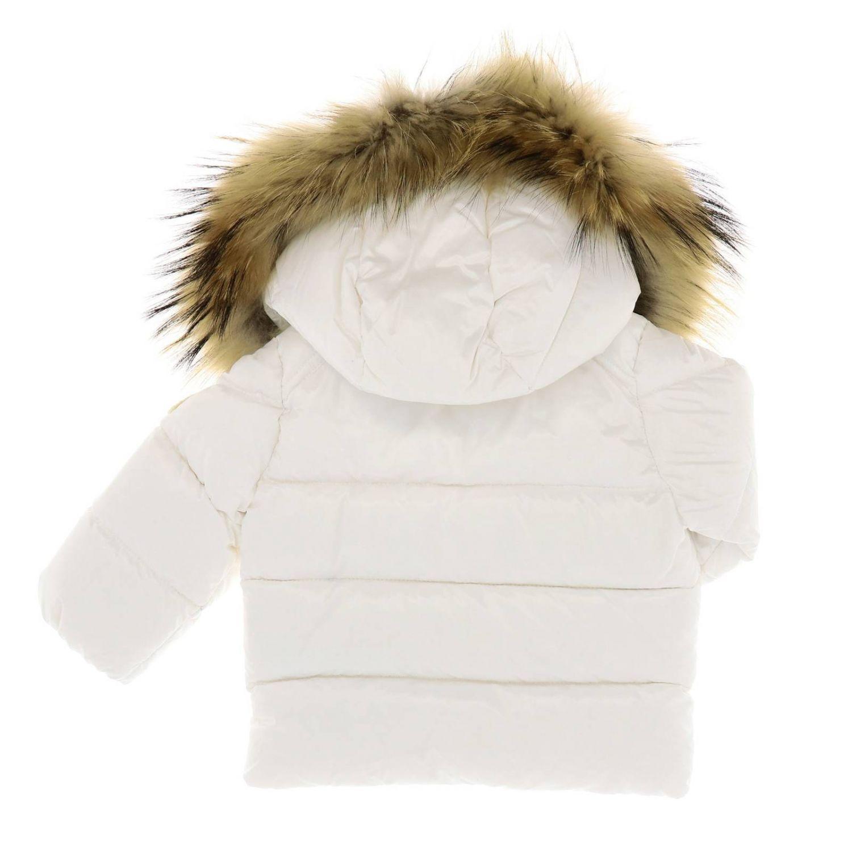 Jacket kids Moncler white 2