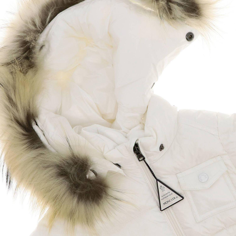 Jacket kids Moncler white 3