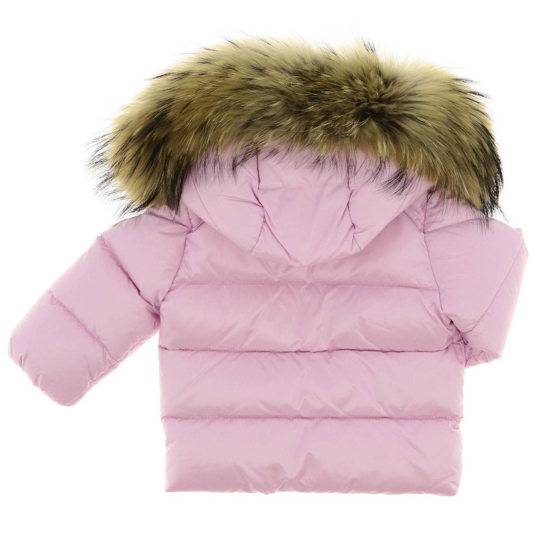 Jacket kids Moncler baby pink 2