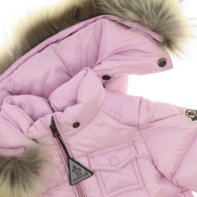 Jacket kids Moncler baby pink 3