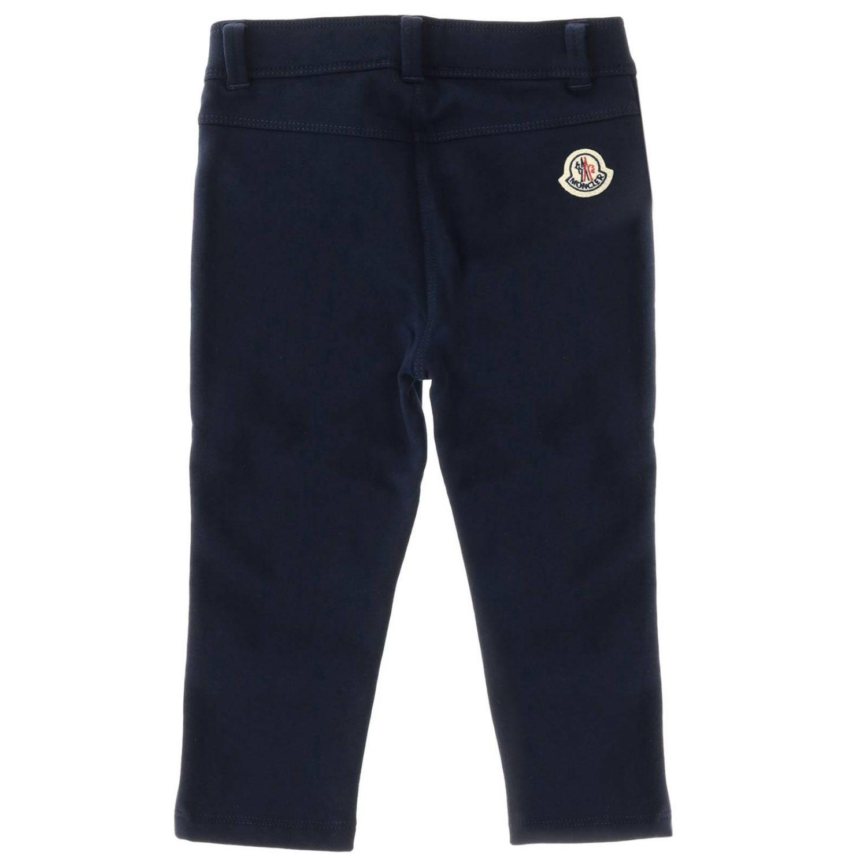 Pantalon enfant Moncler bleu 2