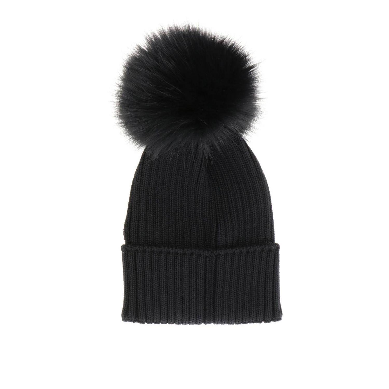 女童帽子 儿童 Moncler 黑色 2