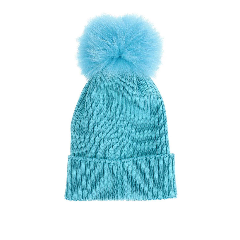 Hat girl kids Moncler gnawed blue 2