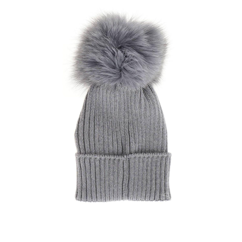 Hat girl kids Moncler grey 2