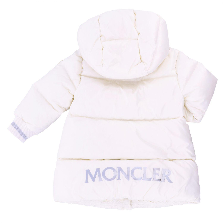 Veste enfant Moncler blanc 2