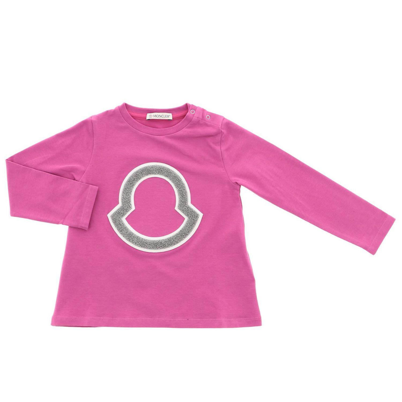 T-shirt kinder Moncler fuchsia 1
