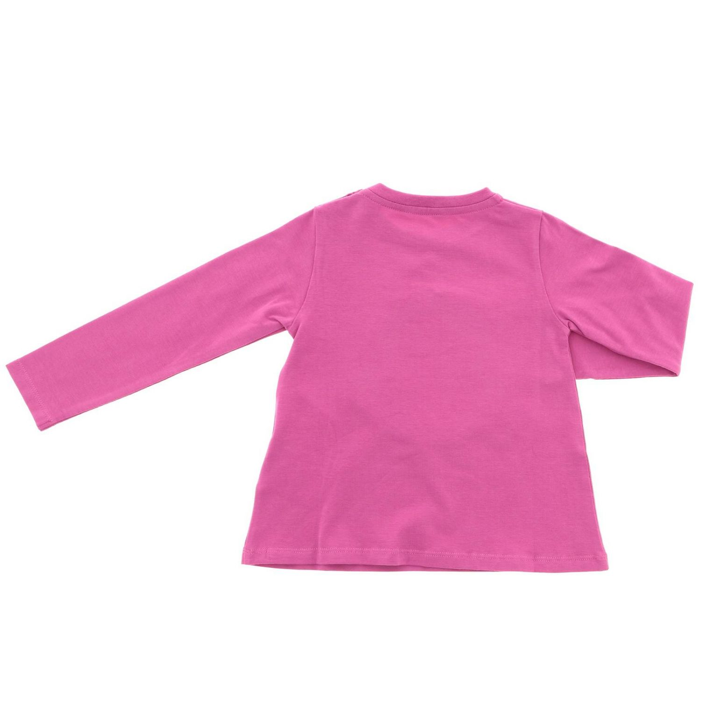 T-shirt kinder Moncler fuchsia 2
