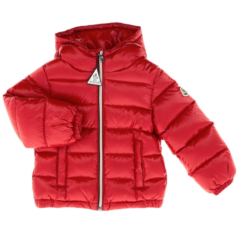 Veste enfant Moncler rouge 1