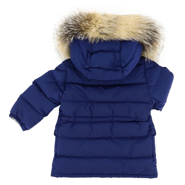 Veste enfant Moncler bleu 2