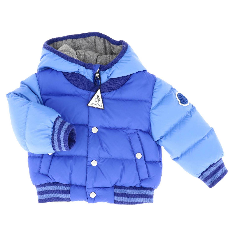 Jacket kids Moncler royal blue 1