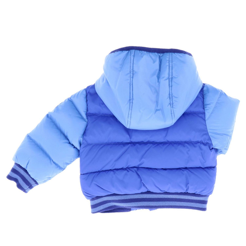 Jacket kids Moncler royal blue 2