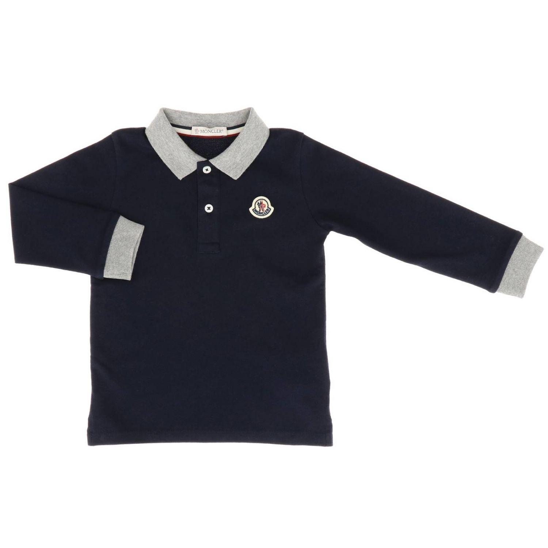T-shirt enfant Moncler bleu 1