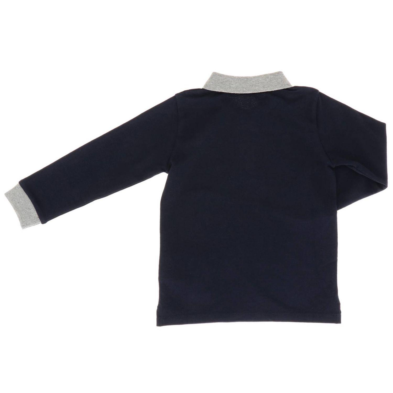 T-shirt enfant Moncler bleu 2