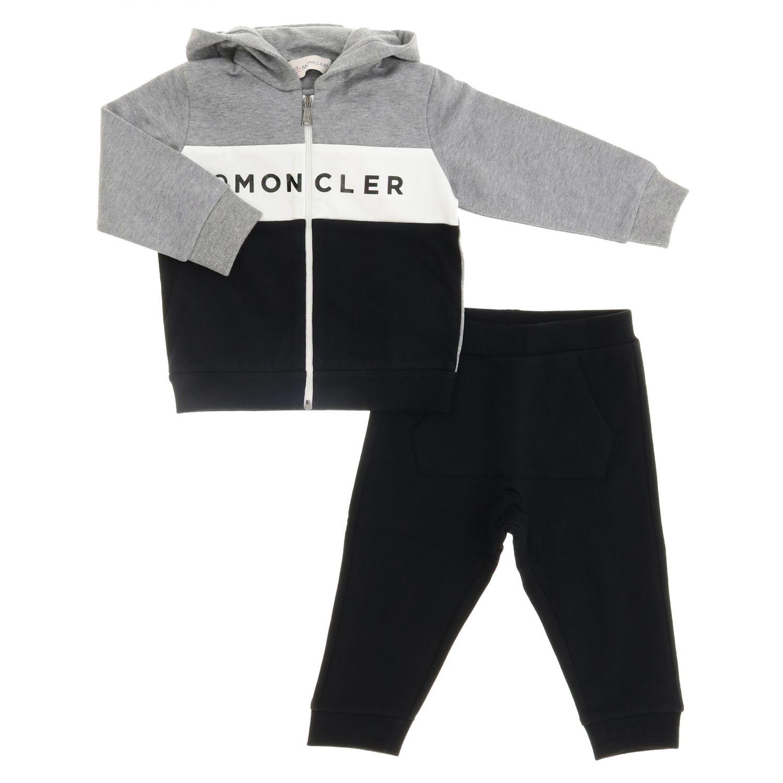 Tracksuit kids Moncler grey 1