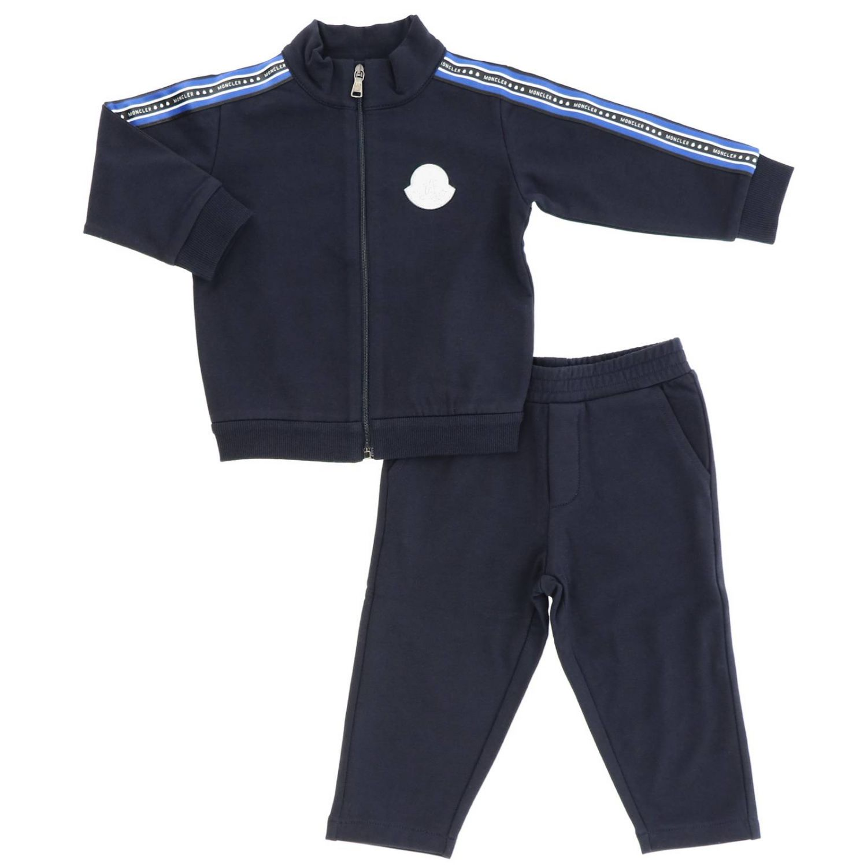 Tracksuit kids Moncler blue 1