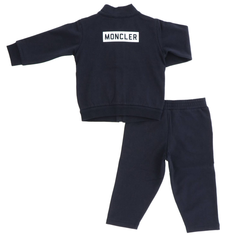 Tracksuit kids Moncler blue 2