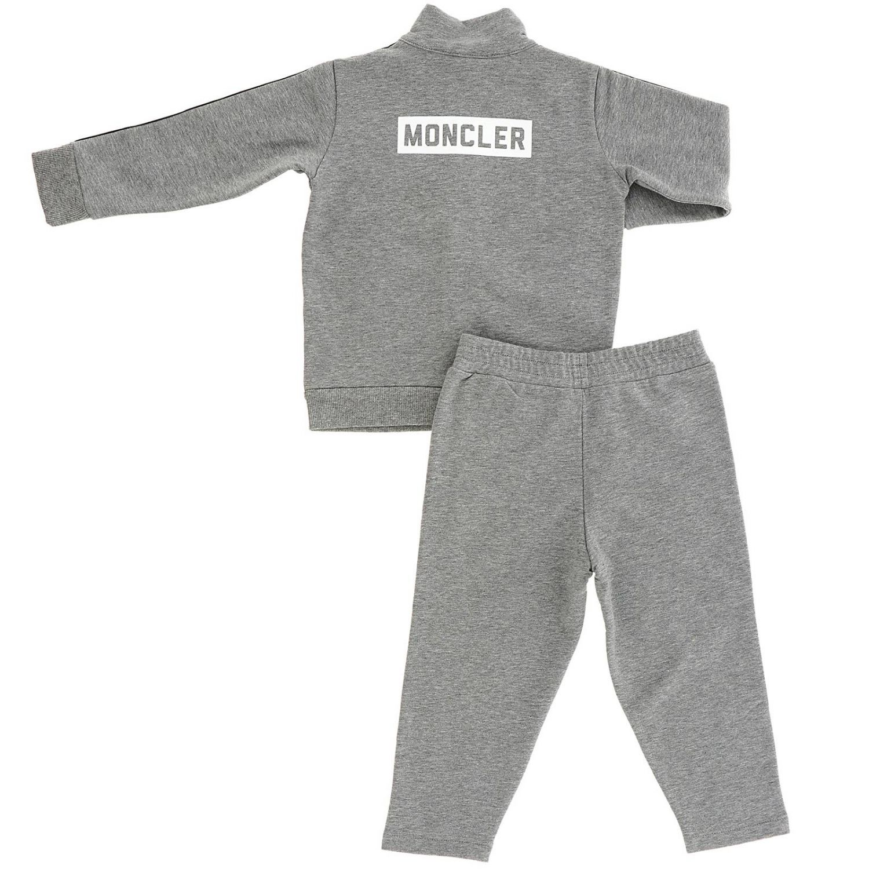 Tracksuit kids Moncler grey 2