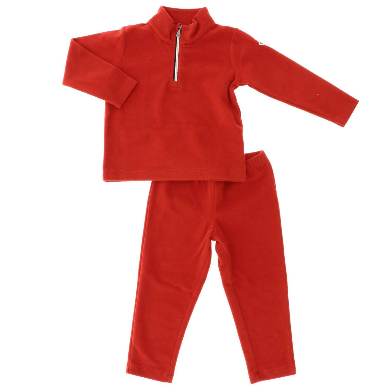 Tracksuit kids Moncler red 1