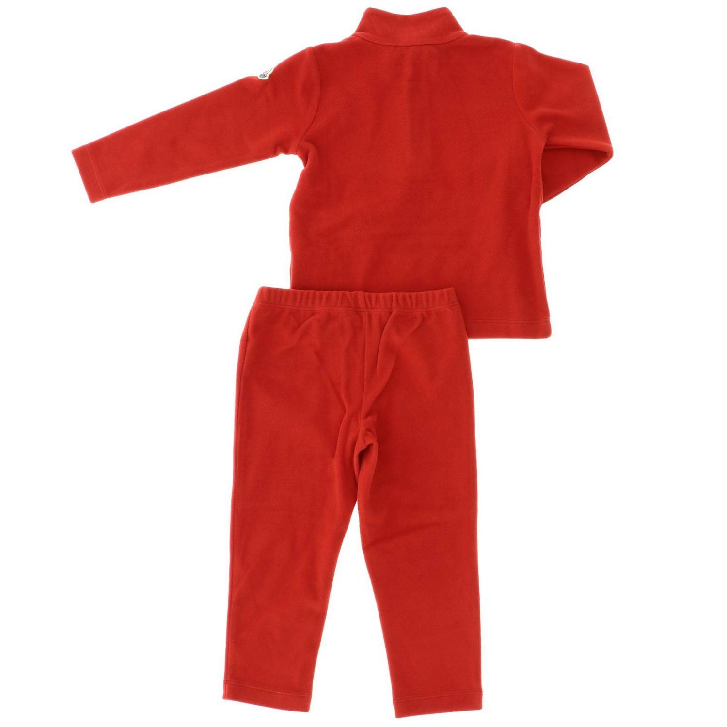 Tracksuit kids Moncler red 2