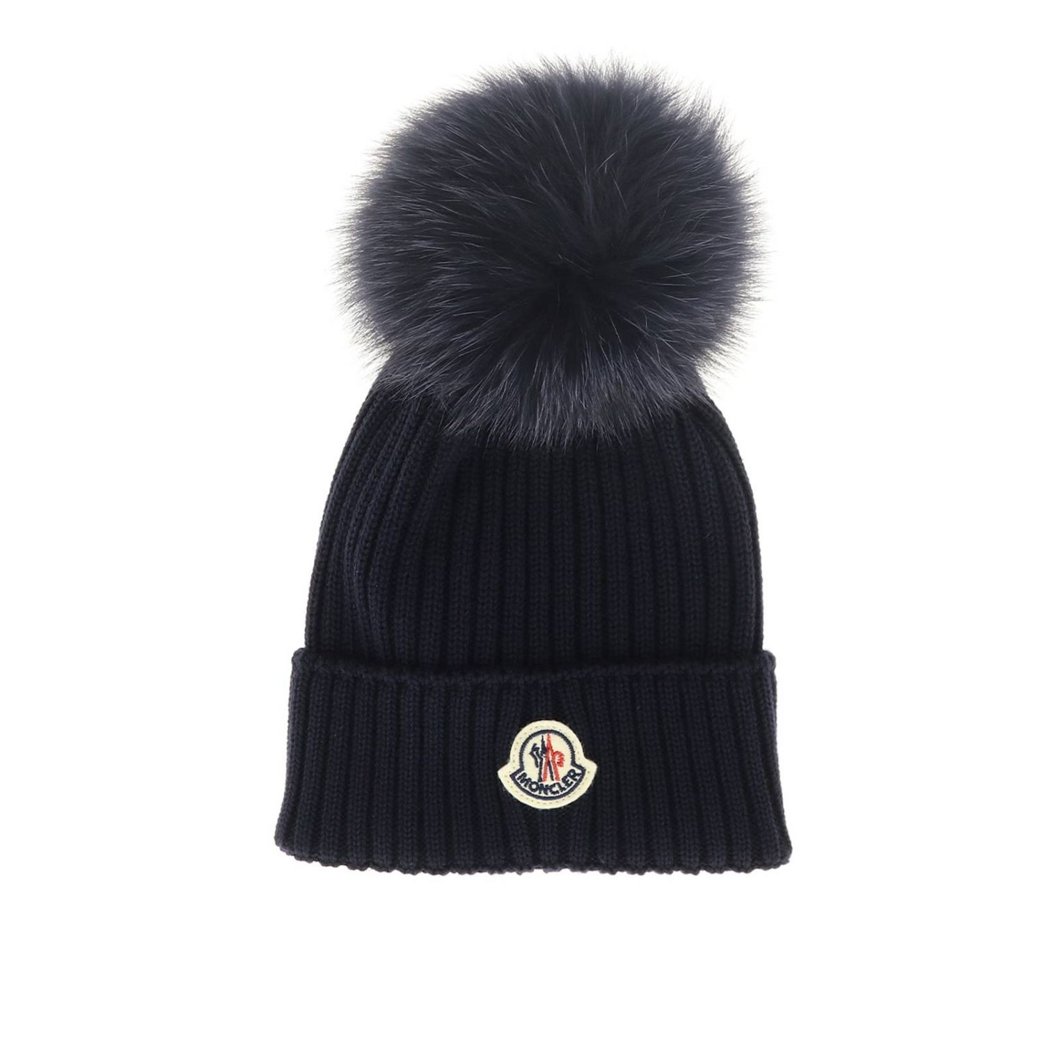 Hat girl kids Moncler blue 1