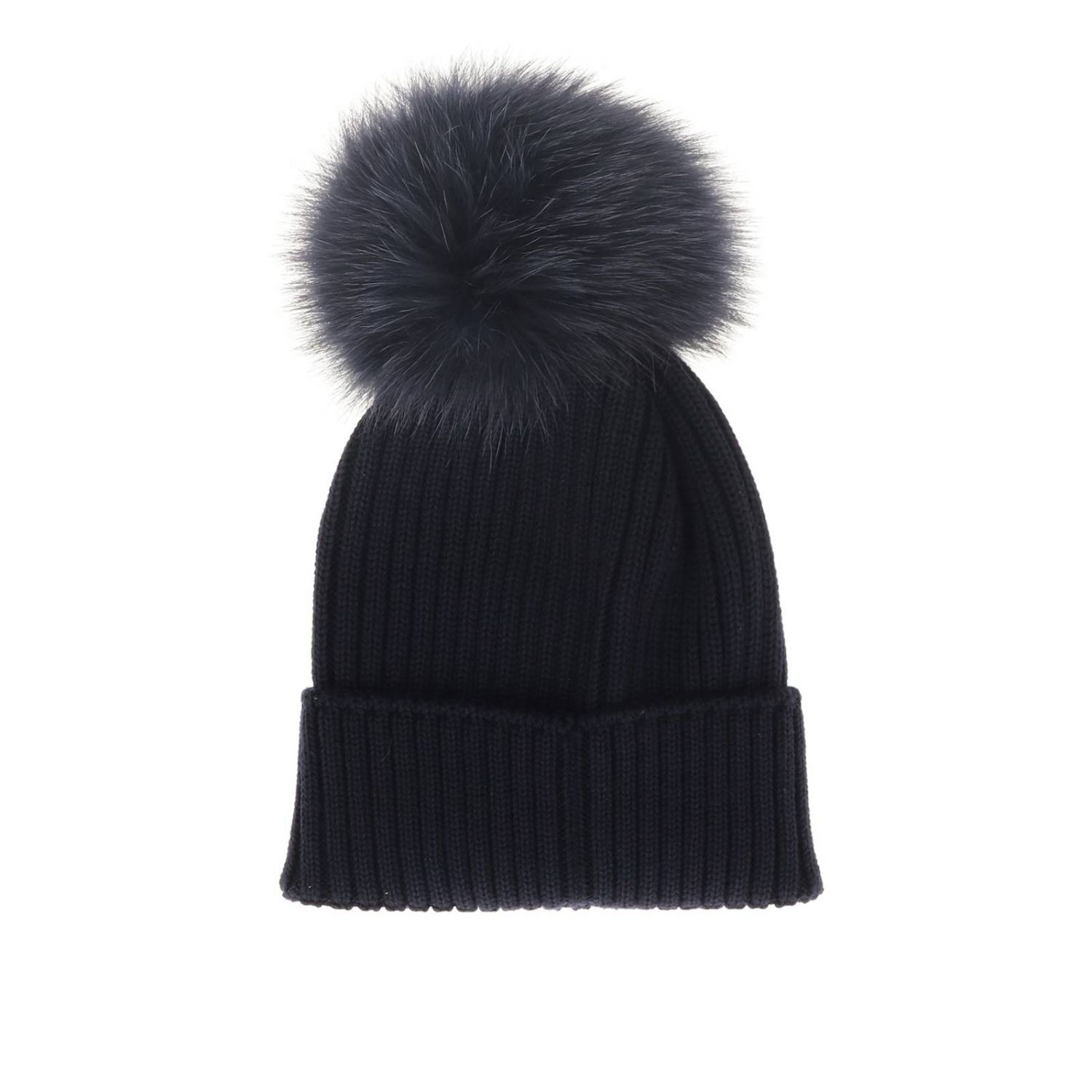 Hat girl kids Moncler blue 2