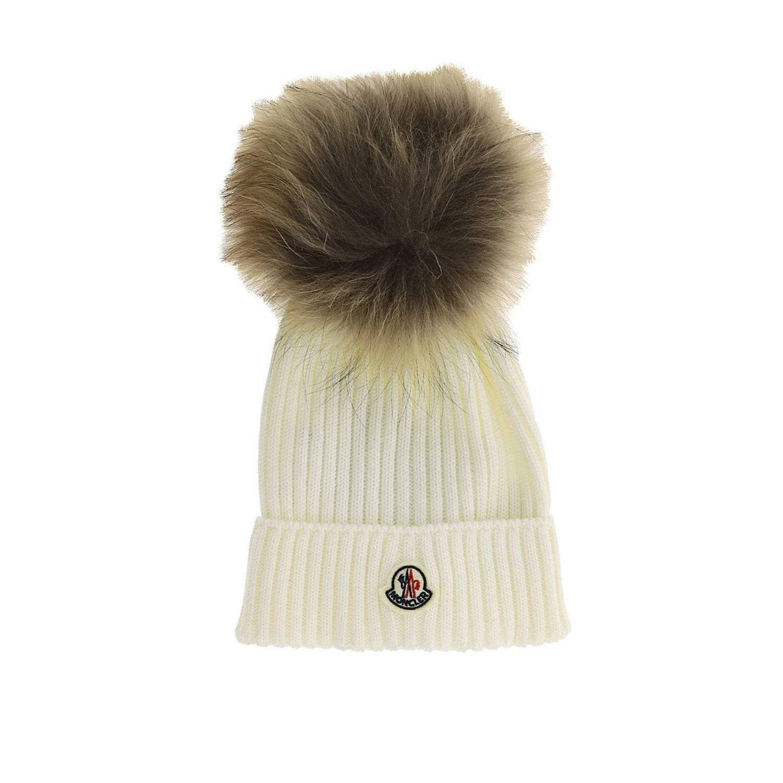 女童帽子 儿童 Moncler 白色 1