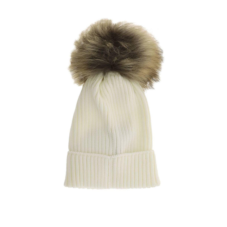 女童帽子 儿童 Moncler 白色 2