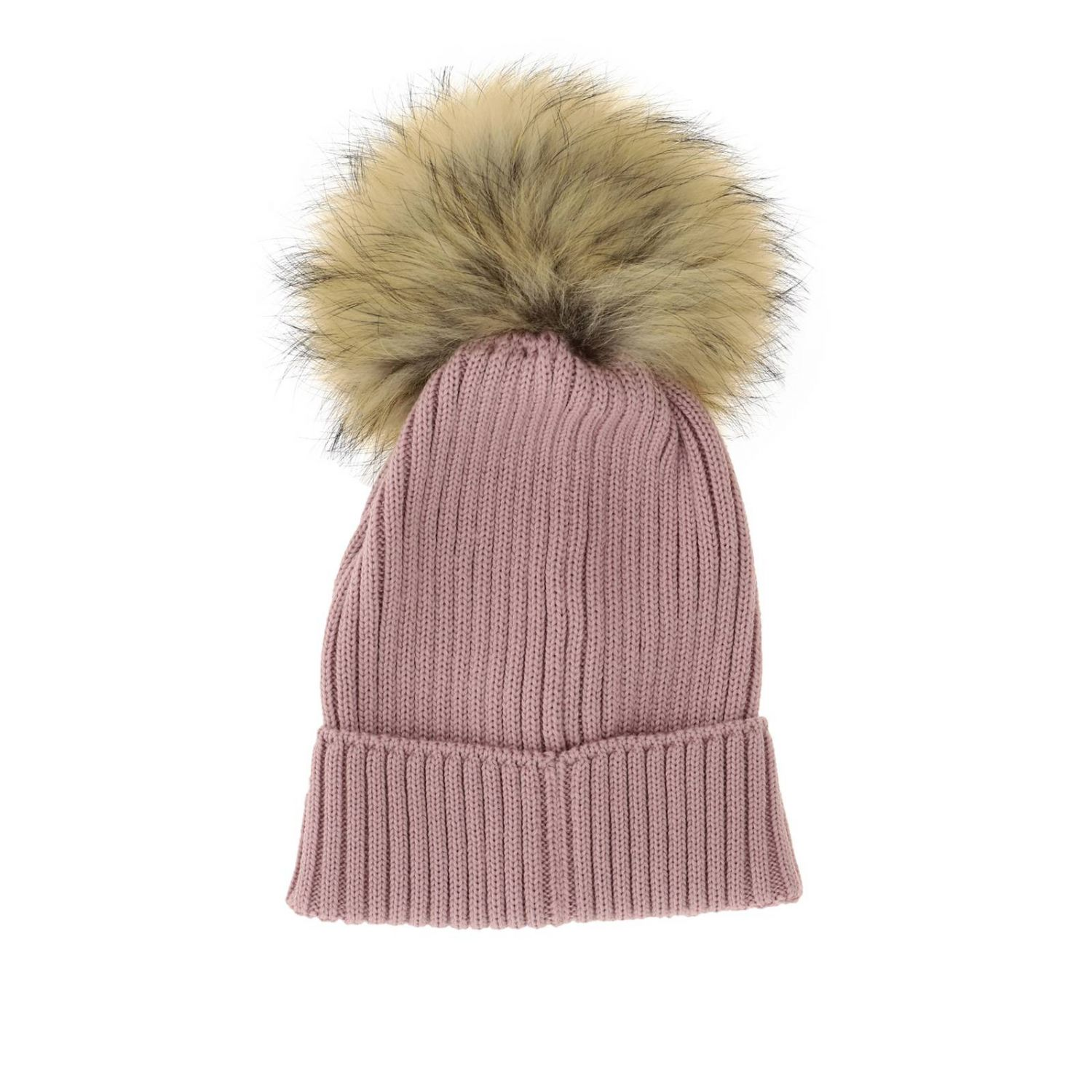 Hat girl kids Moncler pink 2