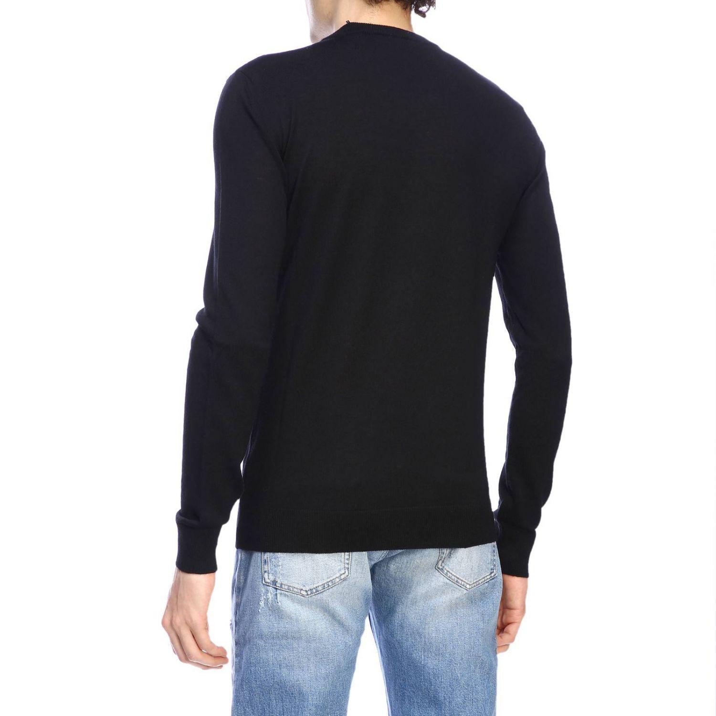 Sweater Balmain: Balmain crew-neck sweater with logo black 3