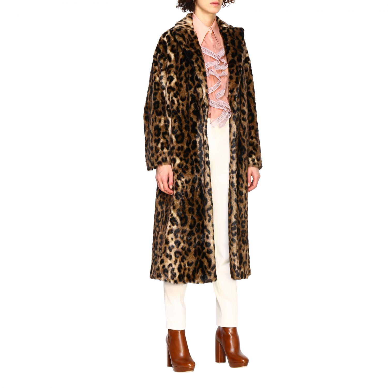 Coat women Red Valentino beige 2