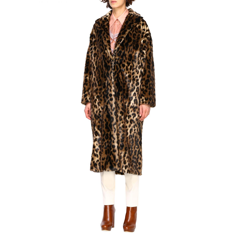 Coat women Red Valentino beige 4
