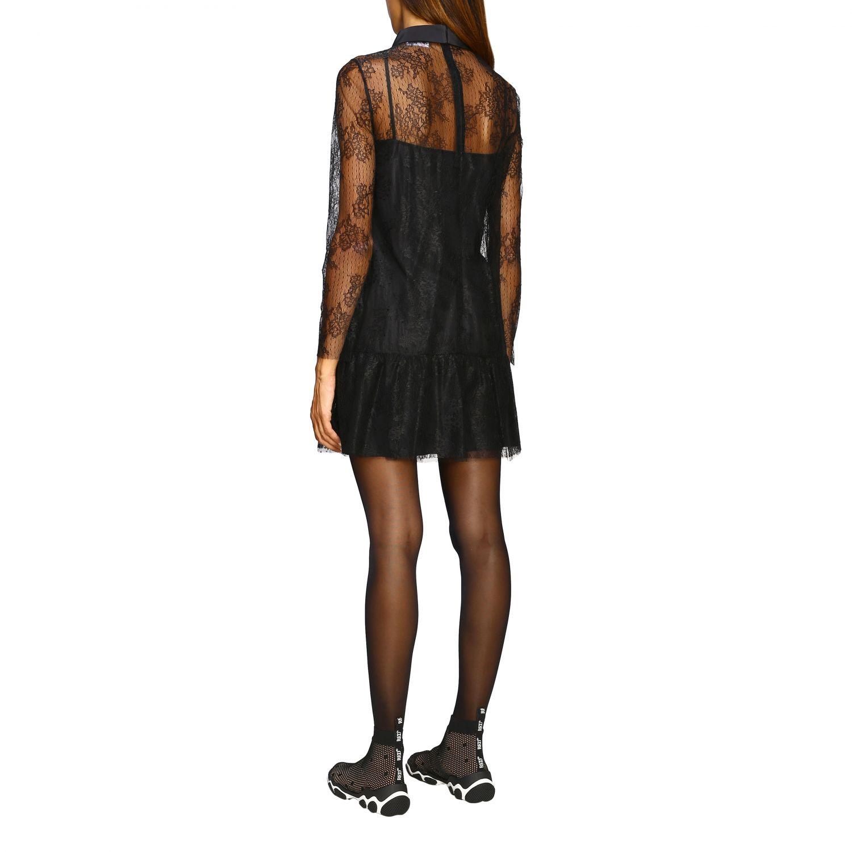 Kleid damen Red Valentino schwarz 3