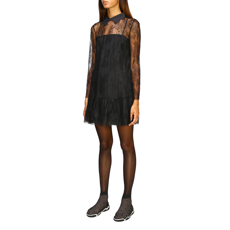 Kleid damen Red Valentino schwarz 4