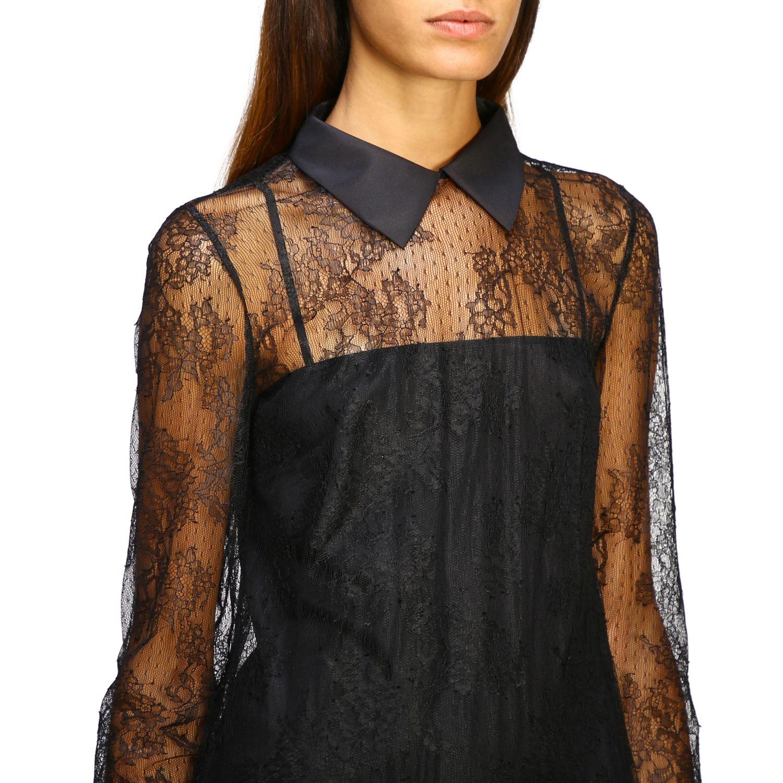Kleid damen Red Valentino schwarz 5