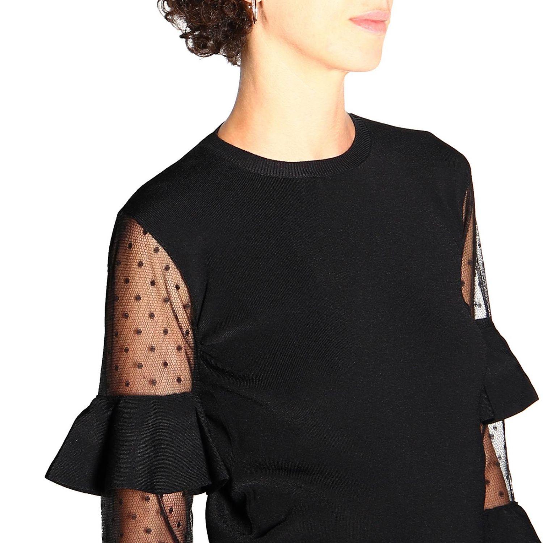 Jersey mujer Red Valentino negro 5