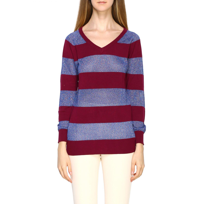 Pullover damen Gallo pflaume 1