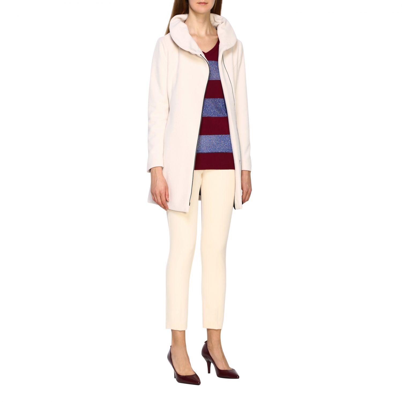 Pullover damen Gallo pflaume 2