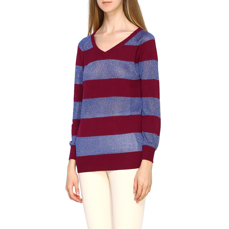 Pullover damen Gallo pflaume 4