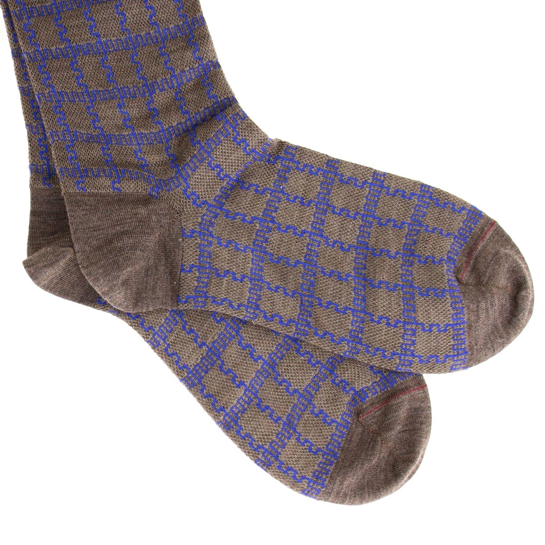 Socken herren Gallo taubengrau 2