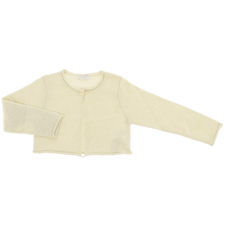 Pullover kinder Il Gufo yellow cream 1