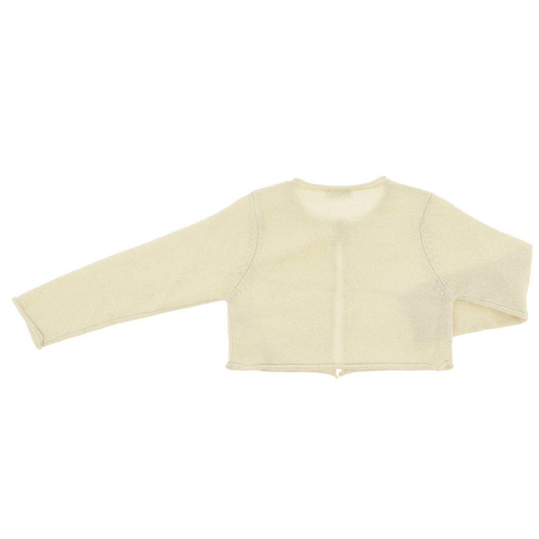Pullover kinder Il Gufo yellow cream 2