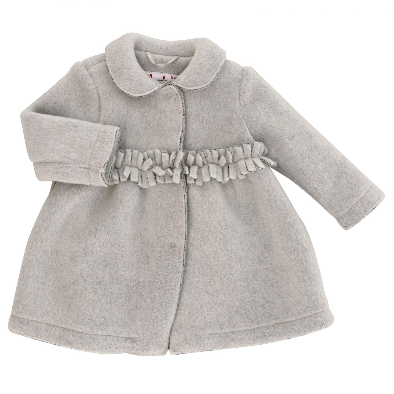 Manteau Il Gufo: Manteau enfant Il Gufo gris 1 1