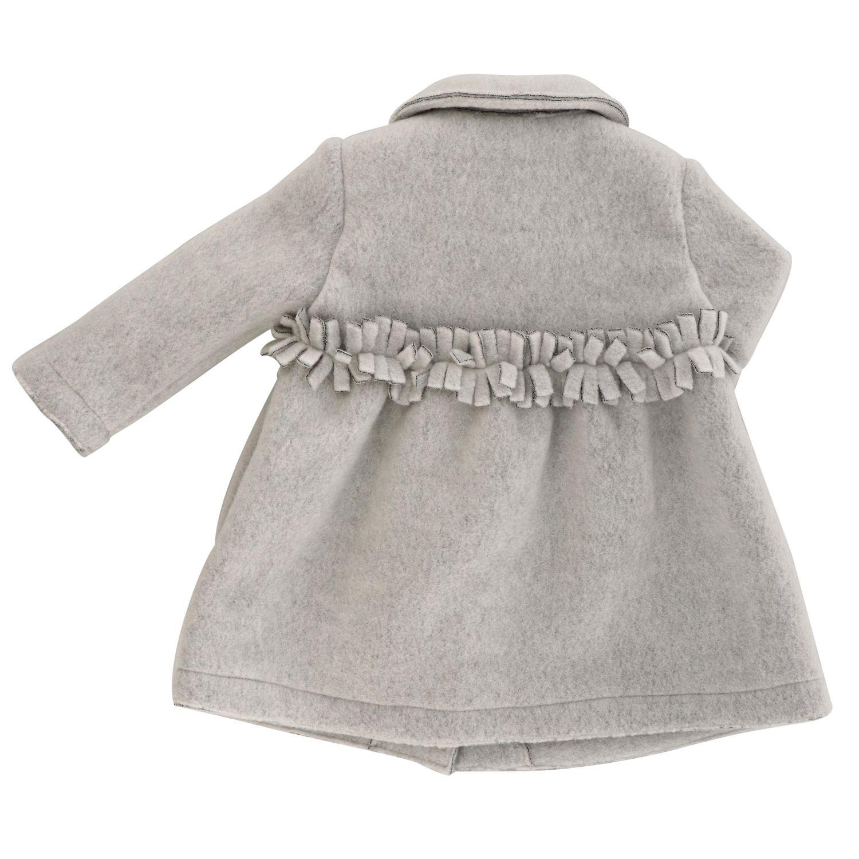 Manteau Il Gufo: Manteau enfant Il Gufo gris 1 2