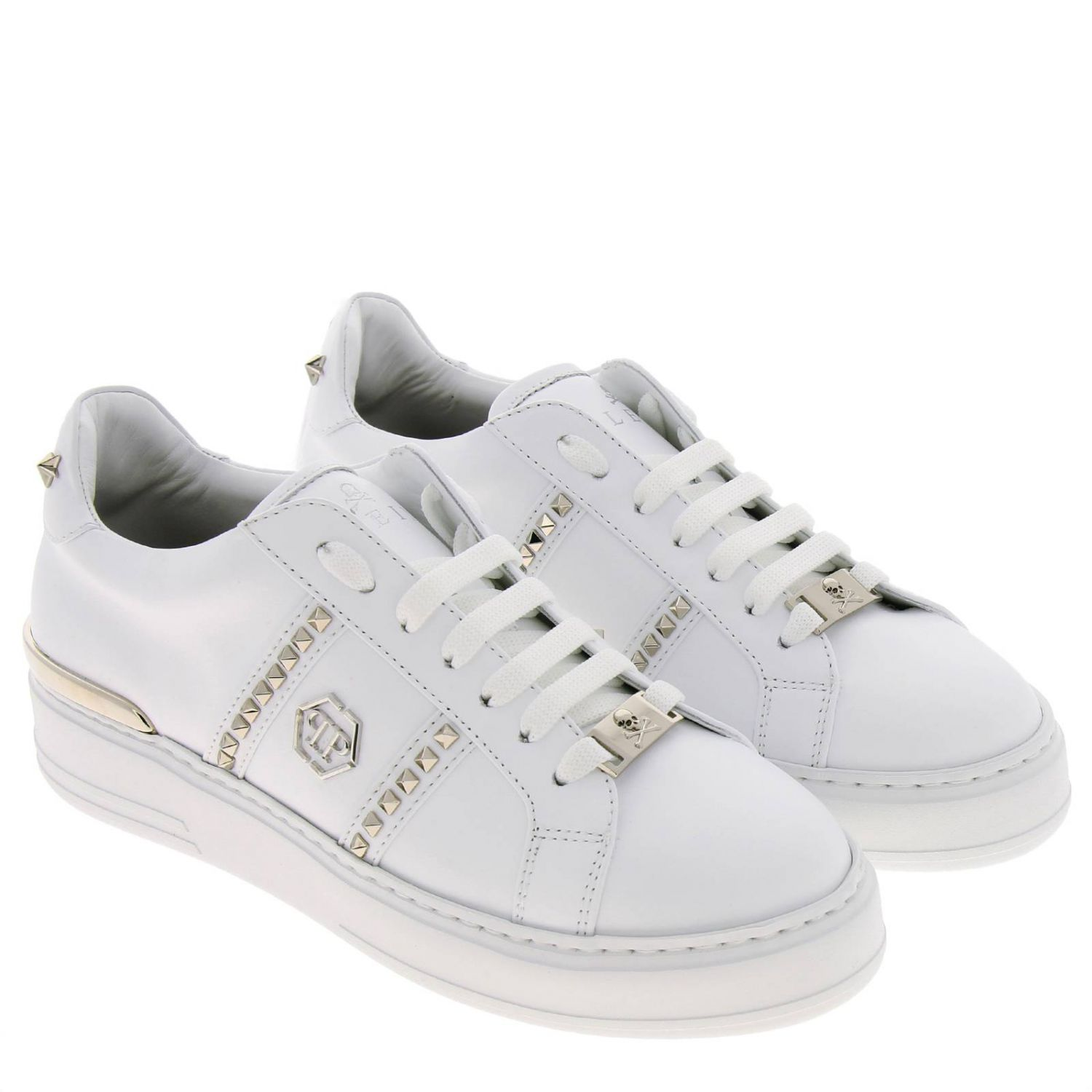Shoes women Philipp Plein white 2