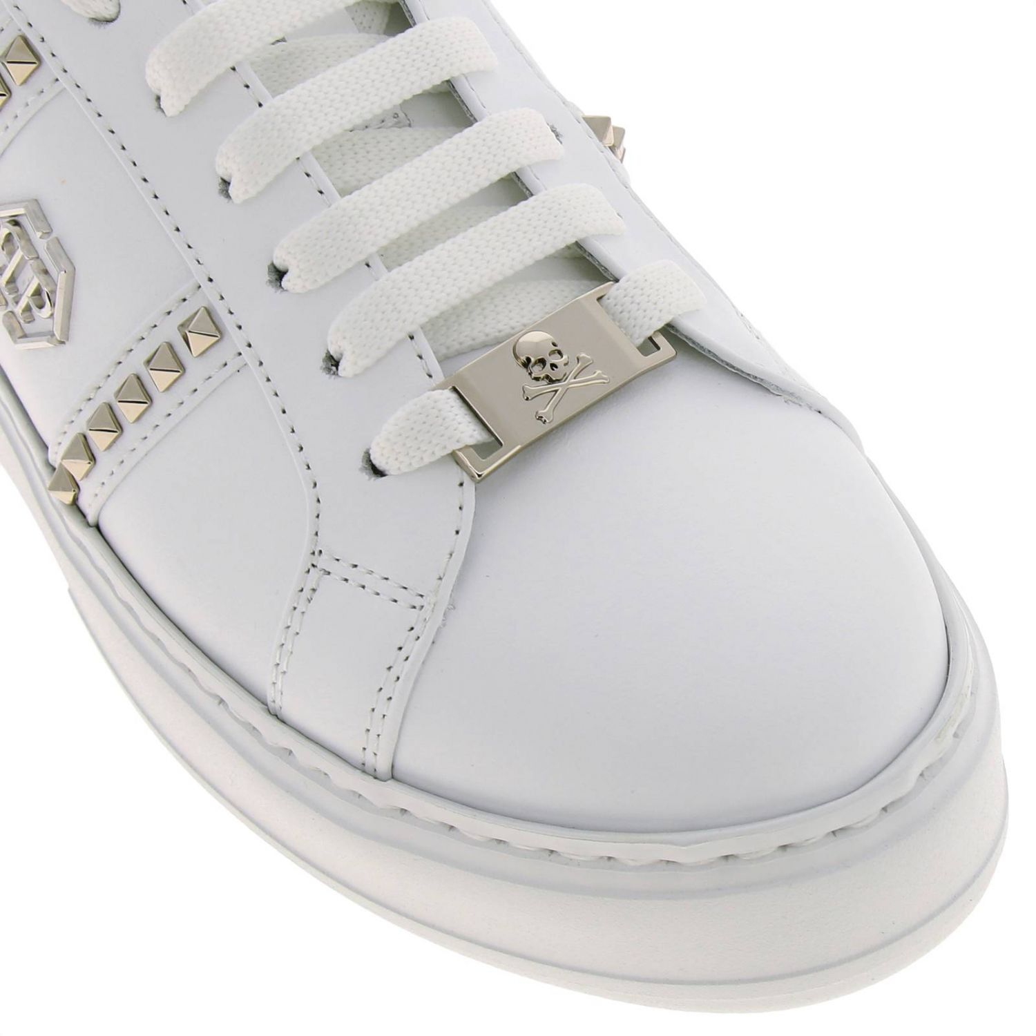 Shoes women Philipp Plein white 3