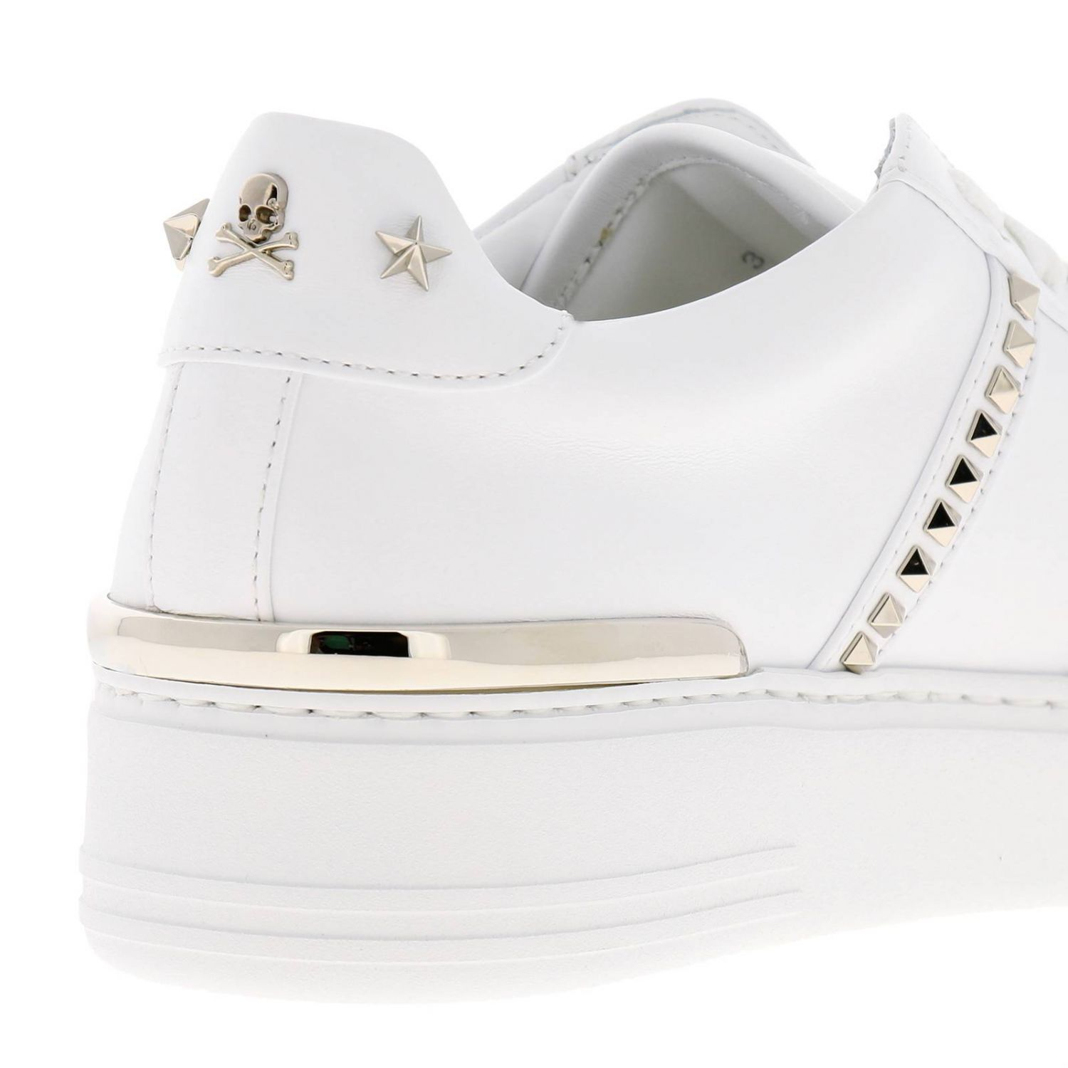 Shoes women Philipp Plein white 4