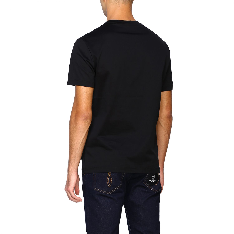 Camiseta Versace: Camiseta hombre Versace negro 3